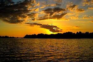 Crystal River Real Estate Sunset